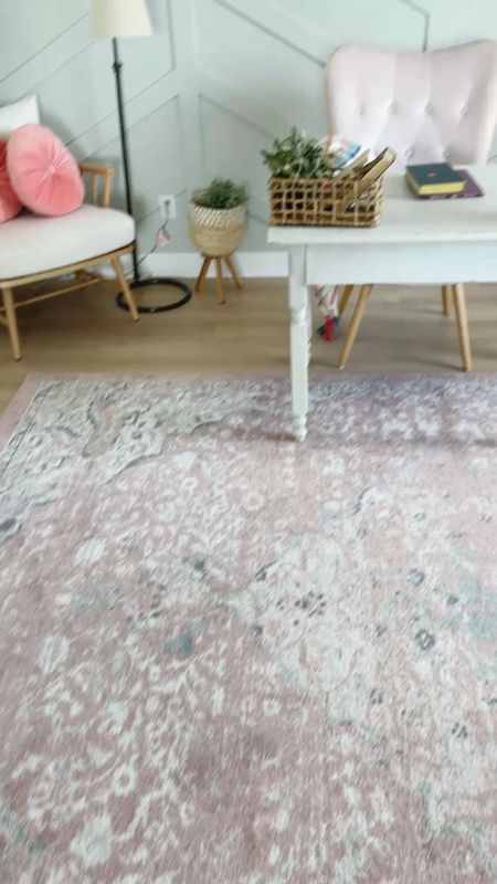 My pink area rug from wayfair is on close out sale today! I have the 6x9 size in my home office.   #LTKSale #LTKhome #LTKstyletip