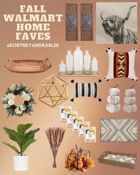 Fall Walmart Home Faves!  Walmart home decor | walmart decor | walmart home finds | walmart home favorites | Walmart home decor favorites | new Walmart home decor | Walmart fall home decor | fall home decor | fall home decor from Walmart | Kortney and Karlee | #Kortneyandkarlee @liketoknow.it #liketkit   #LTKunder50 #LTKunder100 #LTKsalealert #LTKstyletip #LTKSeasonal #LTKhome