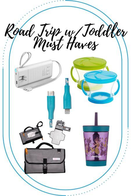 Road Trip w/Toddler(s) Essentials