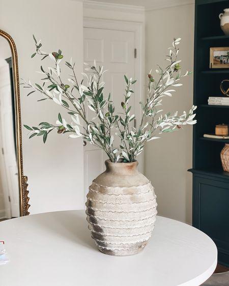 Pottery barn vase // faux stems // home decor #LTKhome #LTKunder50 #LTKunder100 #liketkit @liketoknow.it http://liketk.it/3ibP2