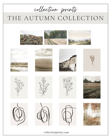 Tomorrow's the last day to score some serious deals over at Collection Prints!  Their autumn collection is so beautiful! I included some of my favorites below, but any of them will take you to their website with the full autumn collection!   Don't miss it! Ends 9/7!  #LTKSeasonal #LTKsalealert #LTKhome