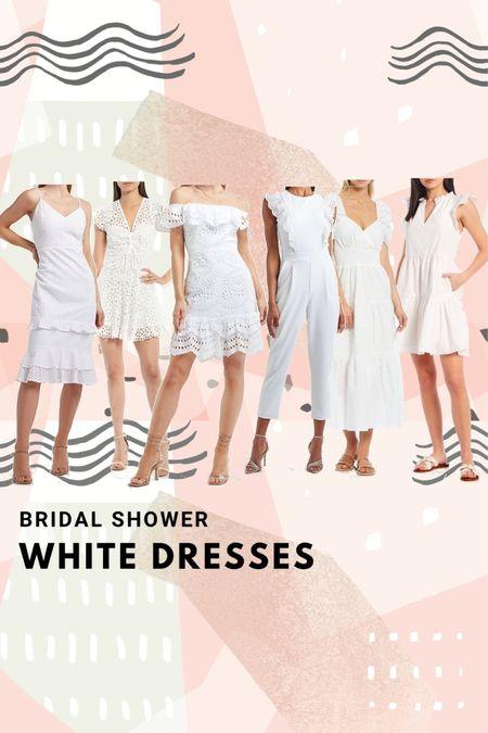 Bridal shower options for the bride 🤍🤍👰🏼♀️ #LTKunder100 #LTKwedding #LTKstyletip http://liketk.it/3gTcU #liketkit @liketoknow.it Shop my daily looks by following me on the LIKEtoKNOW.it shopping app