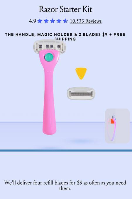 Billie razor starter kit just $9!!   #LTKbeauty