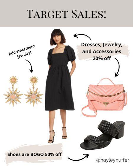 Target Shoes BOGO 50% off!  Dresses, accessories, jewelry all 20% off!!   Download the LIKEtoKNOW.it shopping app to shop this pic via screenshot    http://liketk.it/3bOcf    #liketkit @liketoknow.it #LTKSpringSale #LTKsalealert #LTKunder50
