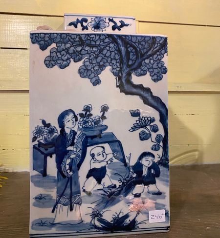 Love that blue and white chinoiserie ginger jar look from antique stores? Here are some affordable pieces for your collection!!