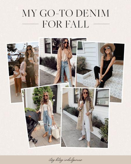 Go to denim for fall   #LTKstyletip