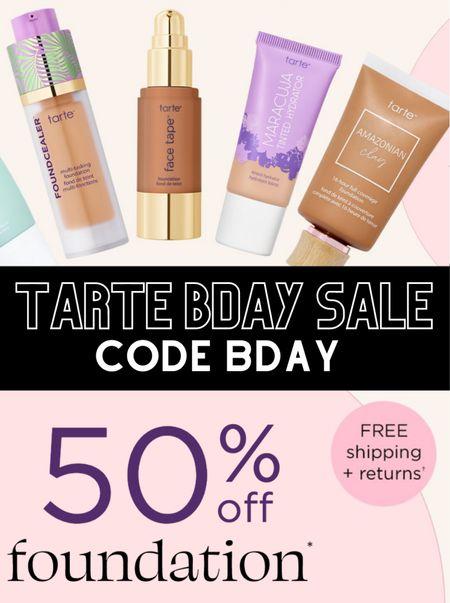 Tarte sale!   #LTKbeauty #LTKunder50 #LTKstyletip