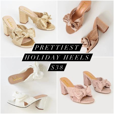 Under $40 and so so comfy - perfect for holiday parties 🎀    #LTKshoecrush #LTKunder50 #LTKHoliday