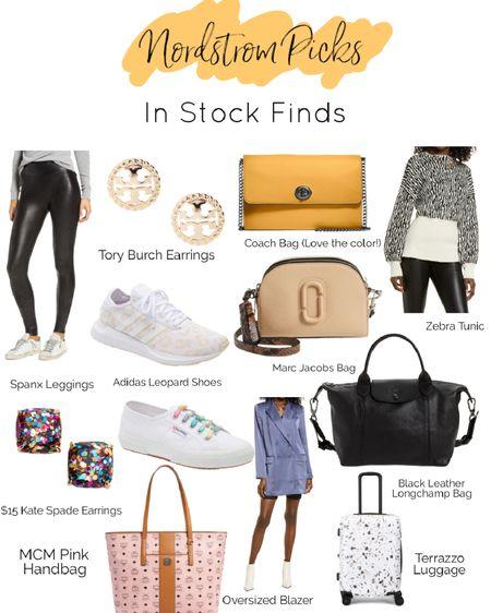 Nordstrom Anniversary Sale N Sale In Stock finds, including Longchamp, Marc Jacobs, MCM, Superga, Adidas, Tory Burch, Kate Spade, Spanx, Coach, luggage   #LTKitbag #LTKshoecrush #LTKsalealert