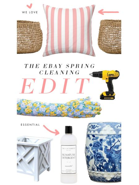When it comes to spring cleaning, we believe that one woman's junk is another Grandmillennial's treasure! @eBay is just the place to find house and garden organization bins, baskets, vacuums, and more, but it is also one of our go-to sources for splendid spring updates and collectibles for home and wardrobe. Today on The Glam Pad, we are sharing our favorite @eBay finds in the spirit of #springcleaning ... Swipe up in stories to see more! #eBaypartner #eBayfinds #eBay @liketoknow.it #liketkit http://liketk.it/39Pxg #LTKhome #LTKfamily #LTKunder50