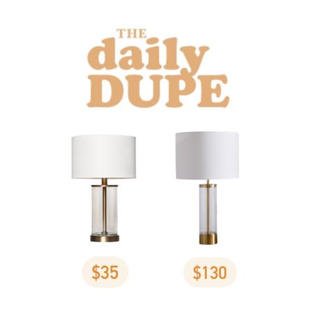 Table Lamp, Clear Lamp, Daily Dupe, Target Find http://liketk.it/3iQvK #liketkit @liketoknow.it