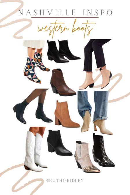 Western boots for the fall!!  #LTKSeasonal #LTKshoecrush #LTKstyletip
