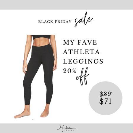 20% off Athleta site wide SALE! Best leggings ever. Size down. Gift guide, Black Friday, workout, bottoms.   #LTKsalealert #LTKstyletip #LTKunder100