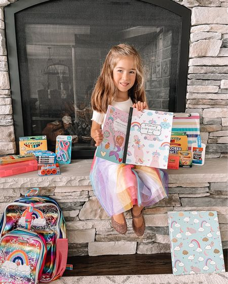 Chloe back to school supplies from Walmart 🙌🏻   #LTKkids #LTKunder50 #LTKfamily