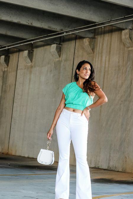 Moms wear crop tops too! #croptop #summer  #LTKtravel #LTKstyletip #LTKunder50