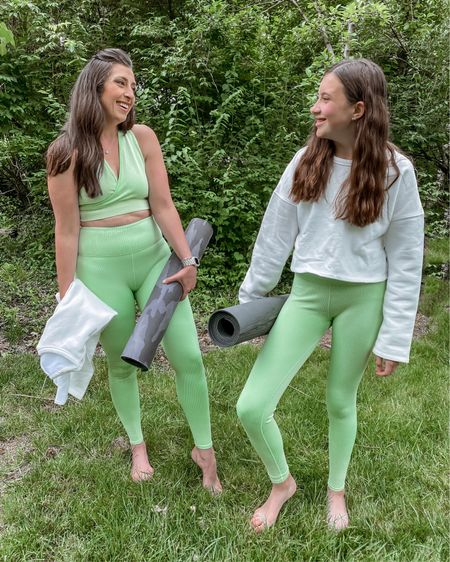 #fableticspartner   Feeling all the 90's vibes…and we're here for it…loving our new sets from the @MaddieZiegler line that just dropped from @fabletics !  As a mom of two, leading by example is so important…especially when it comes to healthy habits.  When our kids were little, they saw mom and dad running, lifting, taking a HIIT class…moving our bodies.  And today, they both love to get their sweat on too…something I am very grateful for…learning these habits young will make them so much easier to keep as they grow older.  So if you are looking for affordable workout wear for you and your teenagers, Fabletics has the best deal around! As a VIP, leggings are 2/$24 but right now VIP's get 70% off EVERYTHING! Follow the link in my bio to shop.    You can shop the rest of my looks one of these easy ways!  1️⃣ Click the link in my Profile 2️⃣ DM me for any links 💕 3️⃣ Screenshot a look for the @liketoknow.it app 4️⃣ Follow me @stephstyle101 on the FREE @liketoknow.it app to get all the shopping details of this outfit and all my other outfits 👉🏻 http://liketk.it/3hvNY #liketkit #LTKsalealert #LTKstyletip #LTKfit