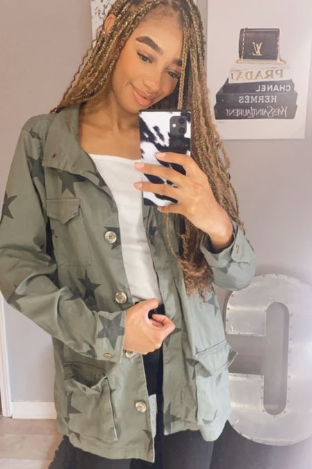 Star green jacket from Target! Love a good Target find. Perfect with fall dresses and fall outfits   #LTKGiftGuide #LTKSeasonal #LTKstyletip