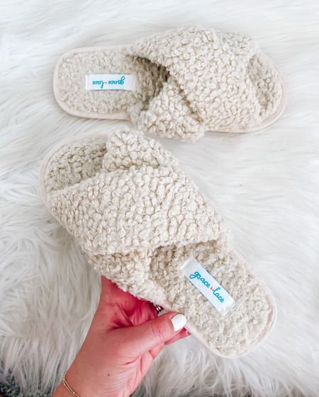 My favorite slippers are on major sale!!! 🎉 they're so soft, comfy and fit true to size!  . . . Cross band slippers, memory foam slippers   #LTKSeasonal #LTKsalealert #LTKHoliday