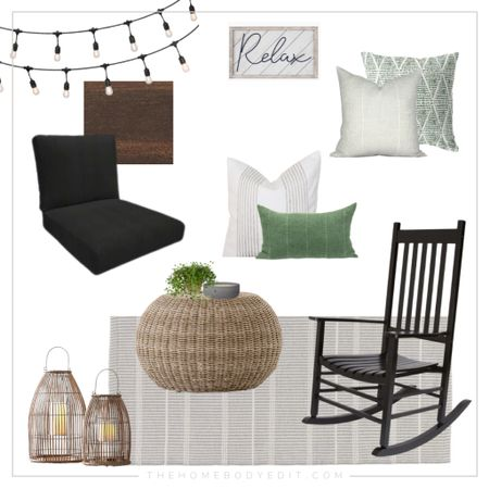Outdoor patio home decor ideas #homedecor #outdoor #outdoorpatio  #LTKhome #LTKSeasonal #LTKfamily