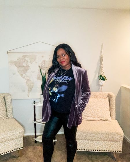 Love me some #prince.  This is one of my favorite tees to wear with everything.  New Instagram reel coming up with different ways to style this tee and more looks with tee coming.  @liketoknow.it You can instantly shop all of my looks by following me on the LIKEtoKNOW.it shopping app   #liketkit #LTKcurves #LTKstyletip #LTKunder100 http://liketk.it/388PS