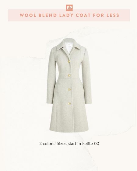 Sharing this early while full stocked, as petite sizes sold out quickly last year! Also linked up picks from their Petite fall arrivals.  This is the factory version of the popular J.Crew lady day coat with very positive reviews. Budget friendly at a fraction of the price of the $$ regular J.Crew version, which is all wool instead of a wool blend. I only have the J.Crew version but find the fit to be very tailored and slim fit (I take 0 petite)  #petite   #LTKSeasonal #LTKstyletip #LTKsalealert