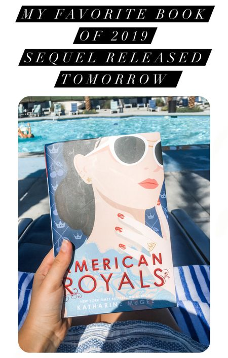 American Royals was my favorite read of 2019 and I am so excited for Majesty, the sequel, to be released tomorrow!