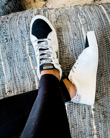 I waited a long time for these shoes to go on sale and they finally did!  Will sell out!  Got the black ones to go with my black leggings 🖤 use code FRIEND for 30% off http://liketk.it/30p2g #liketkit @liketoknow.it #LTKshoecrush #LTKunder100 #LTKsalealert