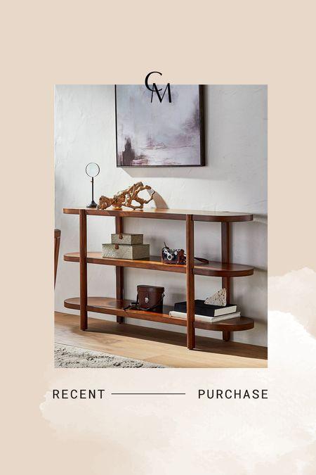 3 shelf bookcase. New home purchase.   #LTKhome