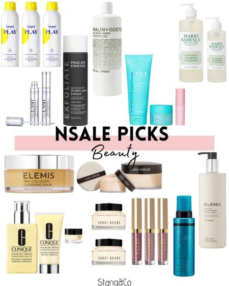 NSale beauty picks / supergoop / olaplex / Clinique / Tula / st tropez self tanner / paulas choice / living proof / still / Elemis / Bobbi brown / Neulash / Mario Badescu / malin and goetz http://liketk.it/3jrv4 @liketoknow.it #liketkit   #LTKsalealert #LTKbeauty #LTKunder100