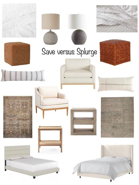 Save versus splurge bedroom addition!  Get the same look for less! See even more in my website- www.thesommerhome.com   You can instantly shop my looks by following me on the LIKEtoKNOW.it shopping app http://liketk.it/3hyV7 #liketkit @liketoknow.it #LTKhome #LTKstyletip #LTKunder100 @liketoknow.it.home