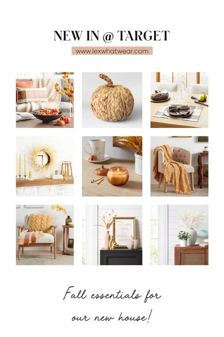 Fall Home Decor New In At Target!!   #LTKhome #LTKSeasonal