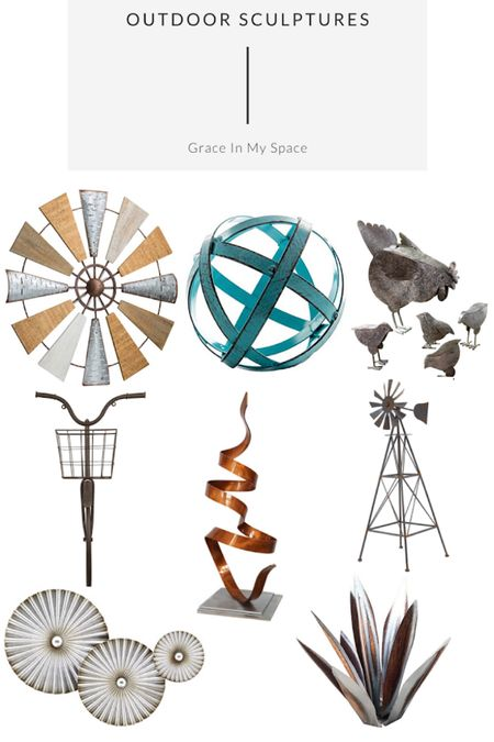 Check out these sculptures to have fun decorating your outdoor spaces!  #LTK #LTKSculptures