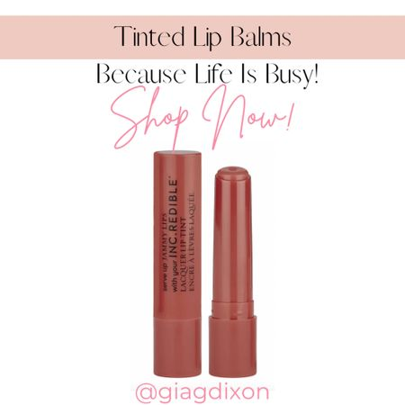 Tinted lip balms you can't go wrong with because life gets busy.  #LTKbeauty #LTKSeasonal #LTKstyletip