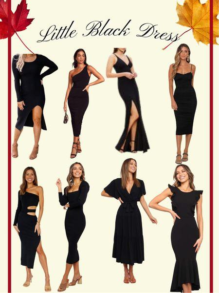My favorite little black dresses!  Wedding Guest dress / date night / girls night out / special occasion wear   #LTKSale #LTKwedding