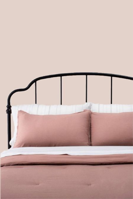simple, stylish bedding! love this color.    nude bedding, comforter, sheets, home decor, bedroom style http://liketk.it/3i4C5 #liketkit @liketoknow.it   #LTKhome #LTKfamily #LTKstyletip