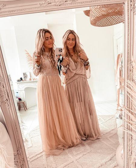 Party maxi dresses we love these ones from Asos.. linked both  👼🏼👼🏼💕
