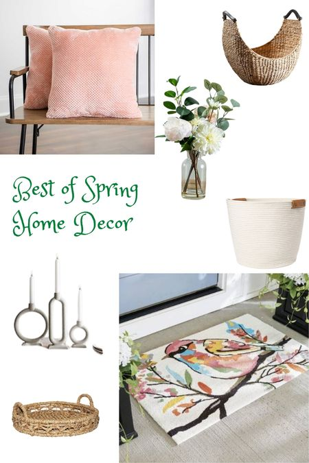 I am all about the lights and brights this spring! 2021 feels like a true renewal. Check out some of the fantastic pieces were updating our home with for spring. Current faves, the bright and cheery songbird throw rug, the blush pink throw pillows, the based peony arrangement (a steak!) and white candlesticks. http://liketk.it/3bgnU @liketoknow.it #liketkit #LTKSpringSale #LTKunder100 #LTKhome #LTKsalealert @liketoknow.it.home Download the LIKEtoKNOW.it app to shop this pic via screenshot