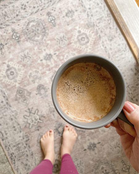 Happy Monday! #coffee #rug #loloi #entryway #homedecor #home http://liketk.it/31jfY #liketkit @liketoknow.it #StayHomeWithLTK #LTKhome #LTKunder50 @liketoknow.it.home
