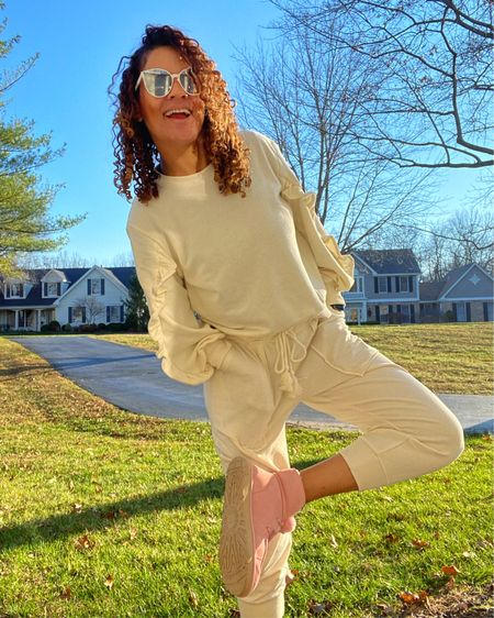 Blessed with good weather in December and comfy as can be with @target outfit and @ugg booties.   You can instantly shop my looks by following me on the LIKEtoKNOW.it @liketoknow.it shopping app - http://liketk.it/33dJR #liketkit #StayHomeWithLTK #LTKtravel #LTKhome