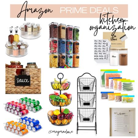 Prime day deals on kitchen organization   #LTKhome #LTKfamily #LTKunder50