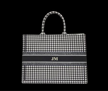 Dior book tote, personalized tote bag,   #LTKGiftGuide #LTKstyletip #LTKitbag