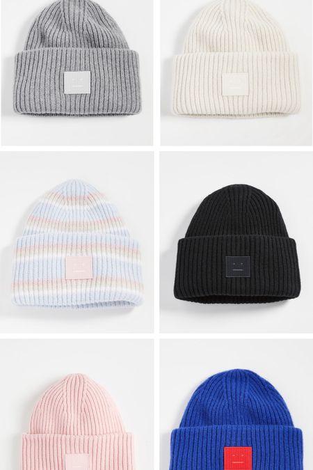 Acne studios beanie, acne studios wool hat, my favorite beanies   #LTKstyletip