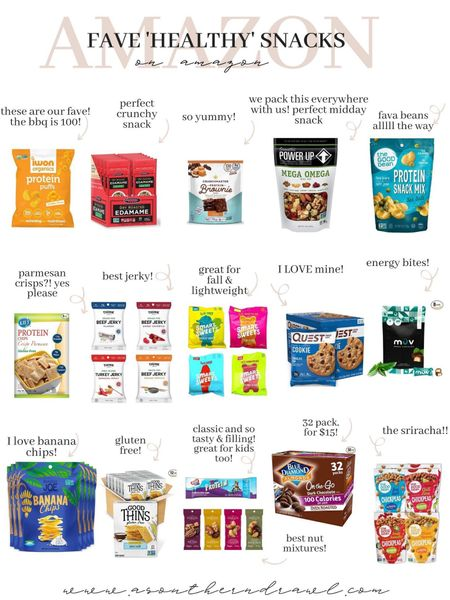 Healthy snack finds from Amazon finds   #LTKunder50 #LTKfit #LTKfamily