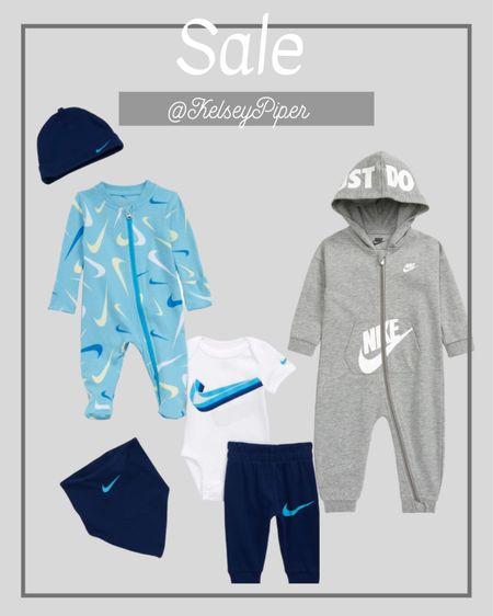 Baby boy Nike finds SALE! #baby #sale #nike   #LTKbaby