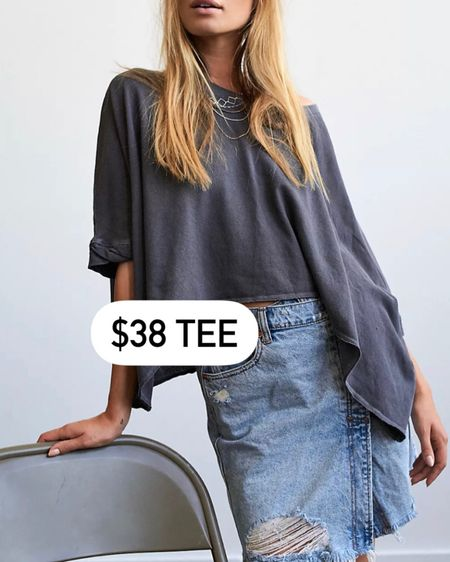 $38 tee! Bought this in XS white @liketoknow.it http://liketk.it/3hSGF #liketkit #LTKunder50 #LTKstyletip