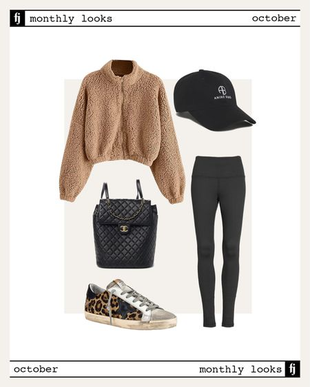 October fall outfit idea #falloutfits   #LTKfit #LTKstyletip #LTKunder100