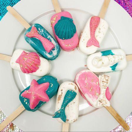 Mermaid cakes i left needs http://liketk.it/3ijzW #liketkit @liketoknow.it #LTKhome