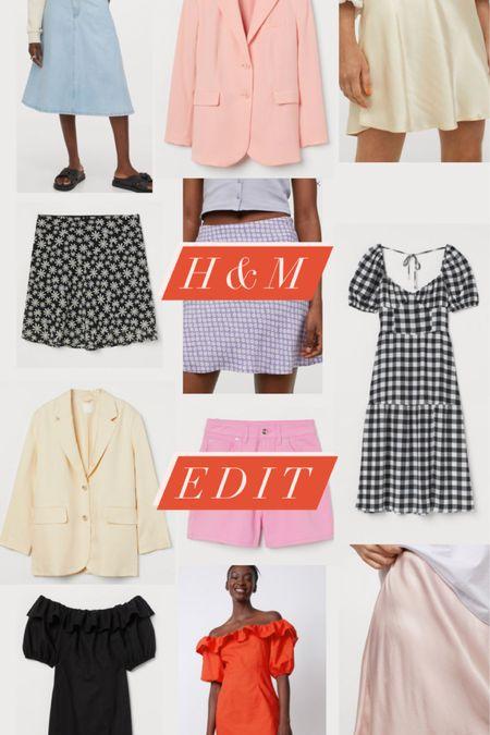 @liketoknow.it #liketkit http://liketk.it/3eRLa H&M edit shorts, miniskirt, oversize blazer