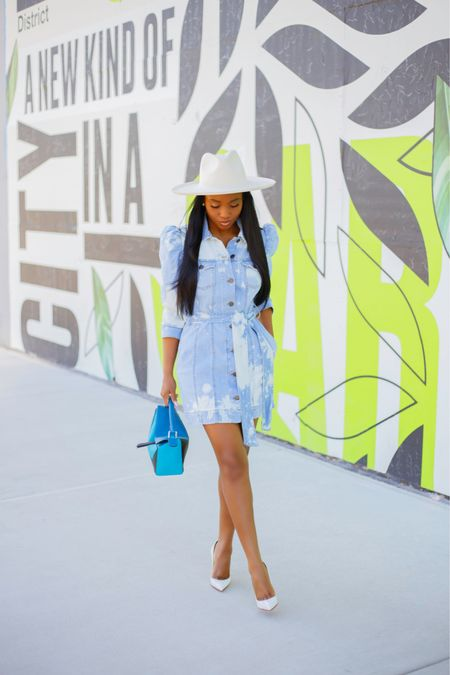 One spring staple I'm fixated on is a denim dress, which can easily transition to summer. What are some one your favorite spring must haves.   Outfits details are on the blog and by following me on the @liketoknow.it app . .  #liketkit http://liketk.it/3c8IS #ootd #LTKfit
