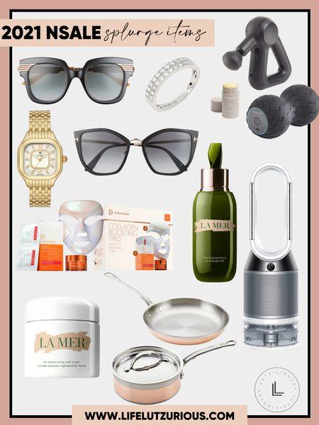 Splurge items from the #nsale - sunglasses, beauty, fan, jewelry, massager   #LTKbeauty #LTKfit #LTKsalealert
